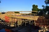Budowa mostu w Gąsawie. Już widać pierwsze efekty prac [zdjęcia, sierpień 2020]