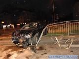Wracał z zakrapianej imprezy, spowodował wypadek na Borowskiej