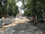 Rewitalizacja bulwarów nad Słupią. Zobacz postępy prac [ZDJĘCIA]