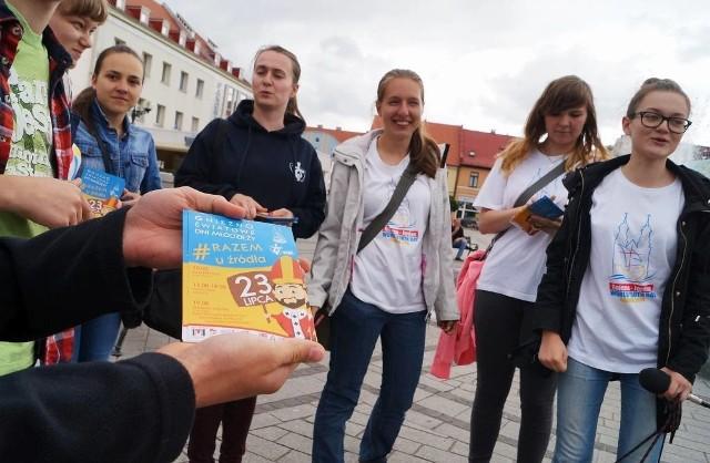 Do udziału w Światowych Dniach Młodzieży zapraszają inowrocławscy wolontariusze