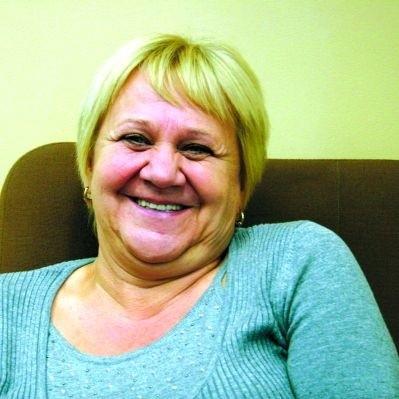 Zawsze uśmiechnięta twarz teatru to Zofia Kossakowska. Na premierach jest duszą towarzystwa.