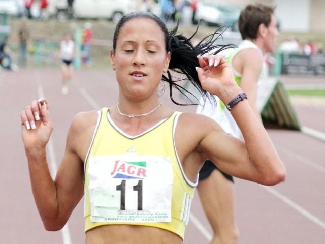 Arleta Meloch ściga się również ze sprawnymi sportowcami. Osiąga duże sukcesy