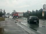 Tragiczny wypadek samochodowy w Wieluniu. 63-letni mężczyzna zginął na miejscu