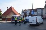 Śmiertelny wypadek w strefie zamieszkania w centrum Stargardu. Kierujący busem potrącił starszą kobietę