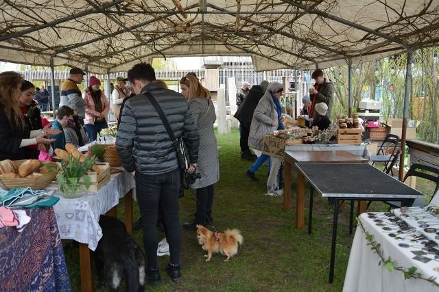 Bazar Rzeka w Cigacicach spotkał się z dużym zainteresowaniem mieszkańców. Nie tylko gminy, ale i sąsiednich. Impreza będzie kontynuowana.
