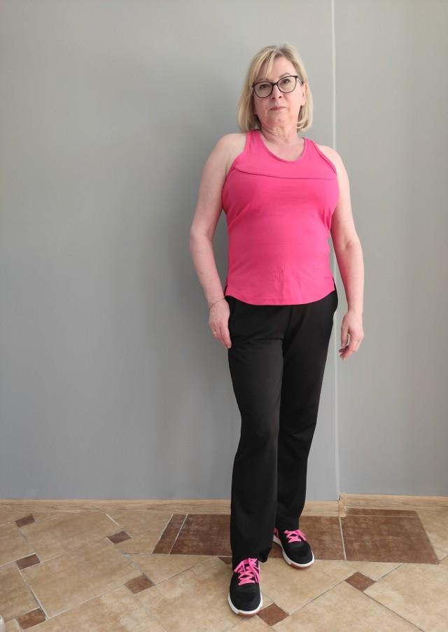 Pani Ela jest  niezwykle pozytywną, energiczną i o  zdrowym podejściu do życia osobą