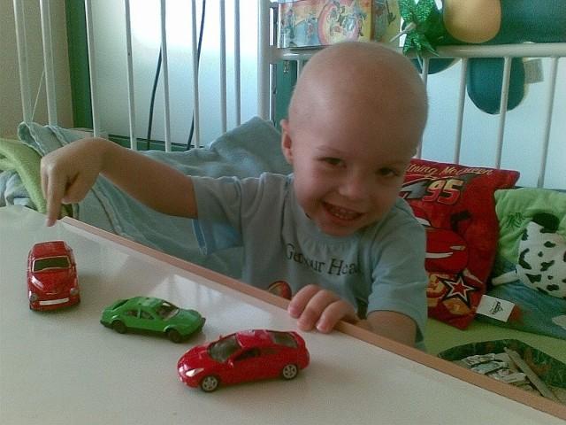 U 2,5 letniego Piotrusia zdiagnozowano guza mózgu
