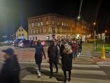 Kilkanaście osób protestowało w sobotę. Był to kolejny strajk kobiet w Gubinie, który... zakończyła przepychanka z Niemcami?