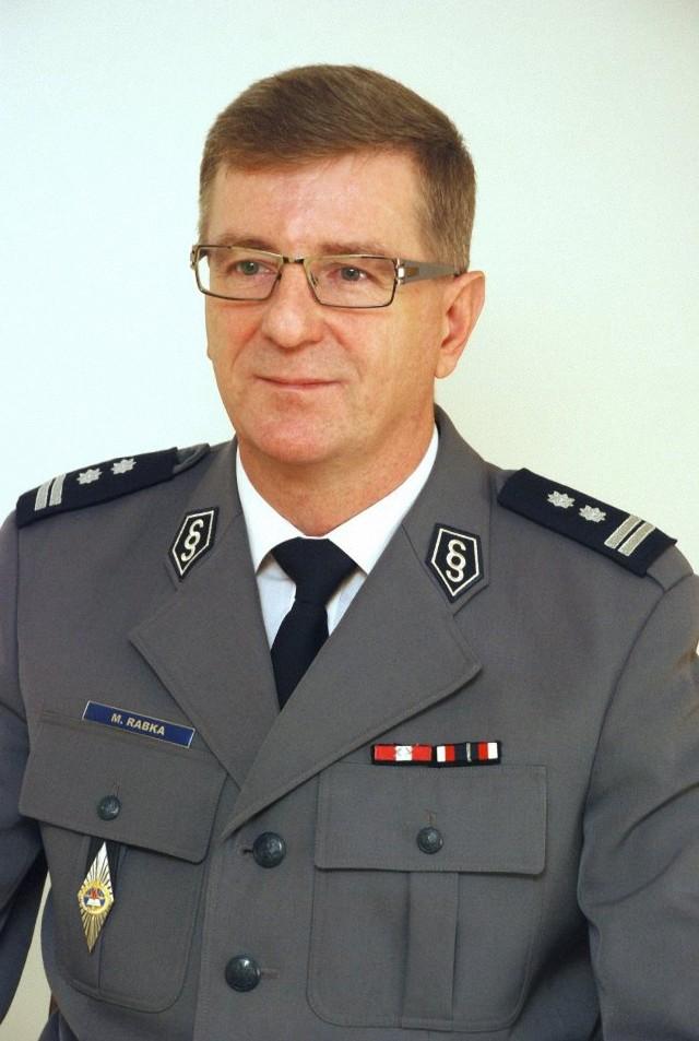 Mł. insp. Mariusz Rabka.