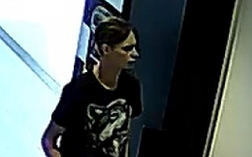 Kamery monitoringu zarejestrowały wizerunek mężczyzny, który...