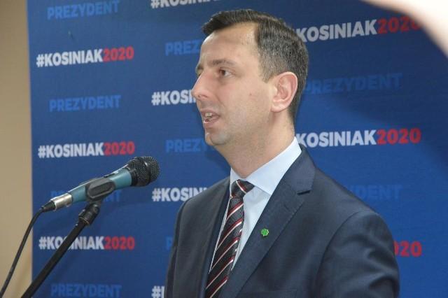 Władysław Kosiniak-Kamysz, kandydat na prezydenta Polski z PSL odwiedził Bednary