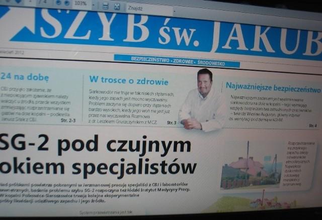 KGHM wydało gazetkę, która ma uspokoić mieszkańców