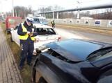 Wypadek na Kilińskiego dzieci trafiły do szpitala. Zderzenie 3 samochodów na ul. Kilińskiego w Łodzi. Zdjęcia