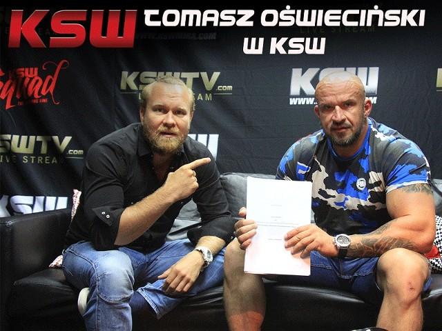 Maciej Kawulski i Tomasz Oświeciński