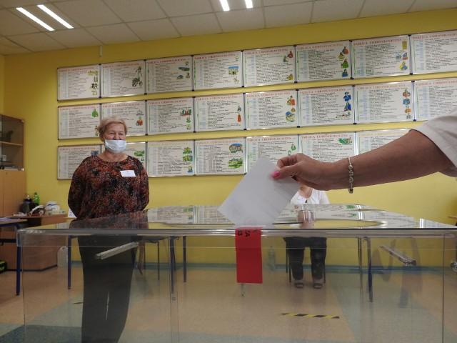 Wybory prezydenckie w Małkini Górnej, 12.07.2020
