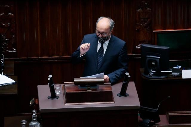 - To nie jest zachowanie godne policji- mówił wicemarszałek Włodzimierz Czarzasty.