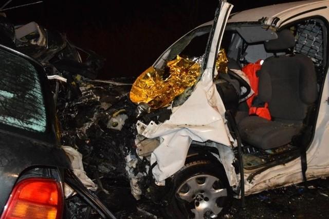 Zdjęcia z ostatniego (16.12) tragicznego wypadku na DK 10