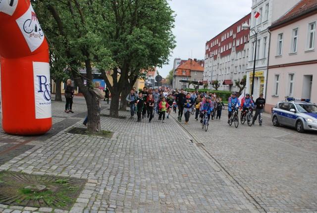 Ubiegłoroczny bieg w ramach akcji Polska Biega w Strzelcach.