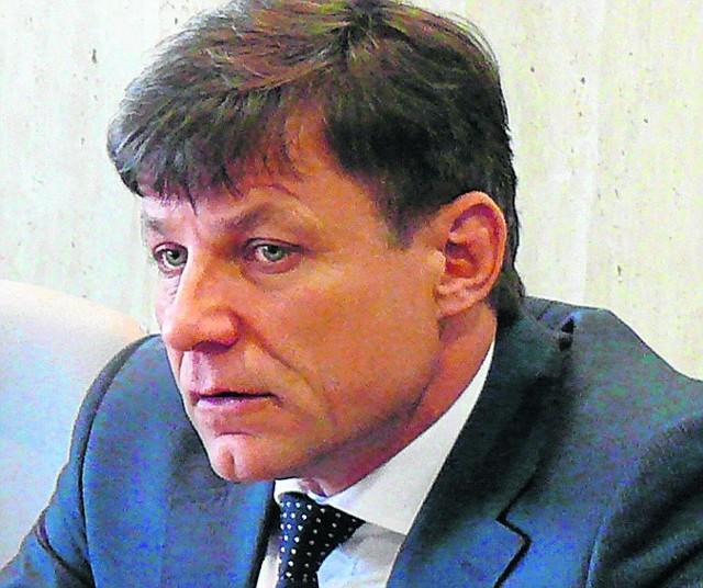 Wójt Sławomir Chojnowski
