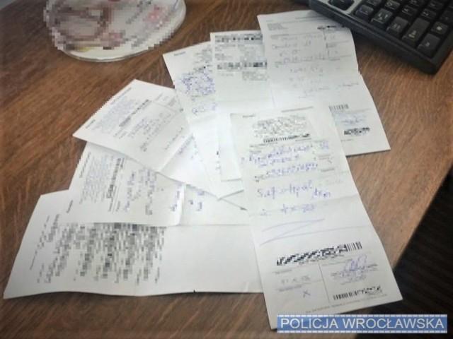 W domu 21 latka znaleziono kilka fałszywych recept