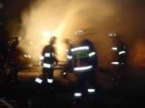 Aleksandrowo. Tragiczny pożar. Śmierć matki z dwójką dzieci (wideo)