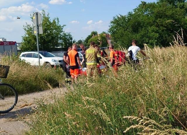 Upały sprawiły, że amatorów wypoczynku nad wodą nie brakuje. Na akwenie Bolko w Opolu, w ciągu 1,5 godziny, służby ratunkowe interweniowały aż dwa razy.