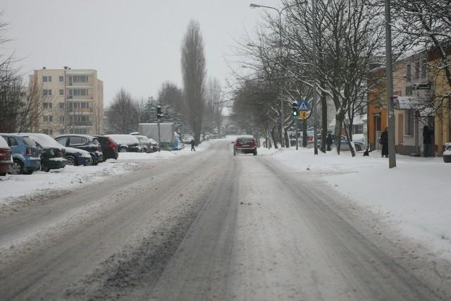 Zima w SłupskuZima w Słupsku