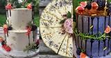 Torty jak marzenie! Cudeńka spod Krakowa robią teściowa z synową. Artystyczne słodkości z bukietami kwiatów i owoców, a nawet morzem i plażą