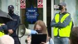 """Protest przed komisariatem policji, w którym zmarł Igor Stachowiak. """"Oczekujemy wyciągnięcia konsekwencji"""""""