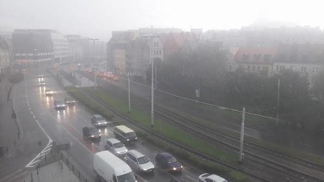 Ulewa we Wrocławiu