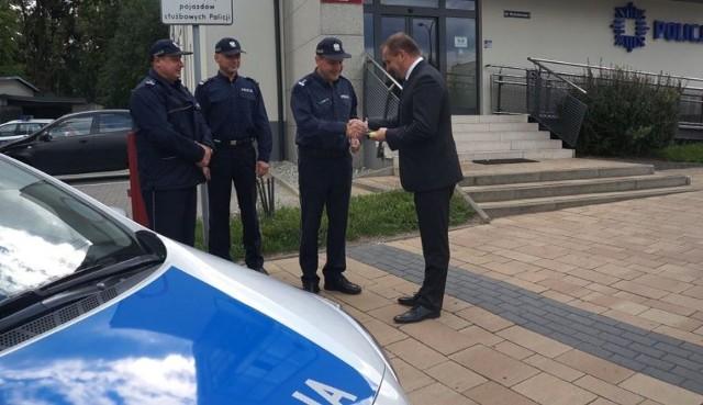 Policja w Żorach ma nowy samochód
