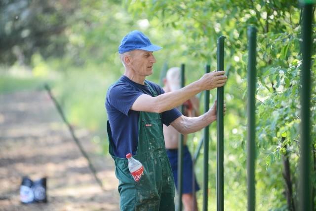 Na terenie Srebrnej Polany powstają nowe ogrody działkowe w Zielonej Górze