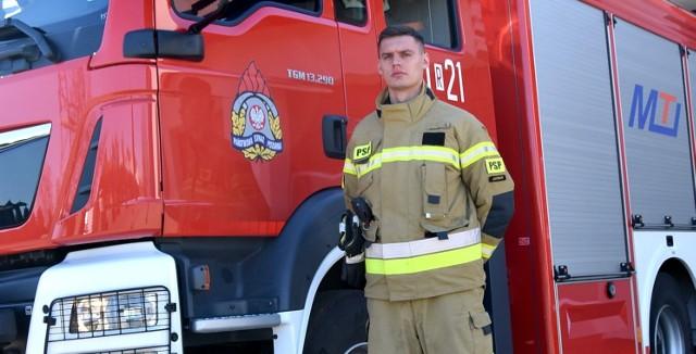 Strażak Arkadiusz Cichocki po służbie ruszył z pomocą rannym w wypadku autokaru na autostradzie A4 koło Przemyśla