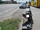 Wypadek pod Przemyślem. Motocyklista zderzył się z citroenem