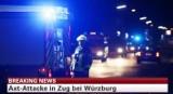 """Niemcy: Mężczyzna zaatakował siekierą pasażerów pociągu. Krzyczał """"Allah Akbar!"""""""