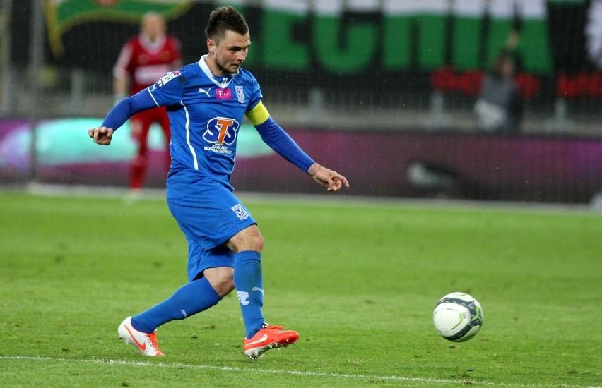 Hubert Wołąkiewicz  do końca kariery będzie pamiętał lutowy mecz w Szczecinie, w którym nie był w stanie upilnować  napastnika Pogoni Marcina Robaka