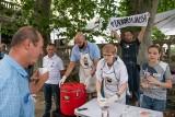 """Przez ostatnie tygodnie """"żądali chleba"""" dla potrzebujących. Na placu Wolności częstowali zupą i dziękowali za udzielone wsparcie"""
