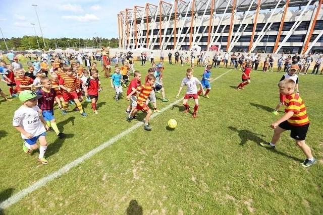 Atrakcje na stadionie w Dniu Dziecka będą bezpłatne, animatorzy czekają w godz. 10-17