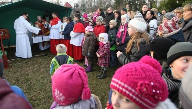 Pierwsza pasterka 2013 we Wrocławiu na Kasprowicza