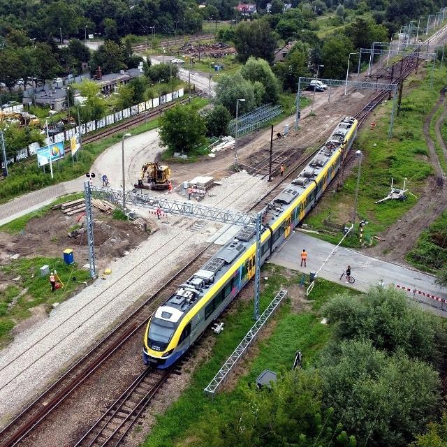 Przejazd kolejowy na ul. Półłanki