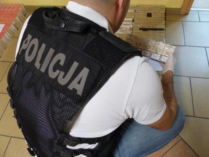 Kalisz: Nielegalne papierosy w rękach policji [ZDJĘCIA, WIDEO]