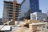 Trwa budowa najwyższego budynku Katowic. Gotowa jest konstrukcja 6 kondygnacji. Zobaczcie, jak rośnie .KTW II