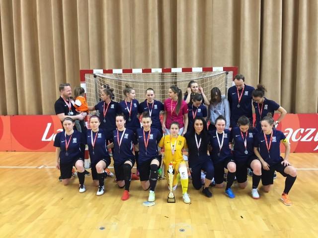 Futsalistki AZS UAM w sobotę i niedzielę zagrają o medale w rozgrywkach Ekstraligi futsalistek