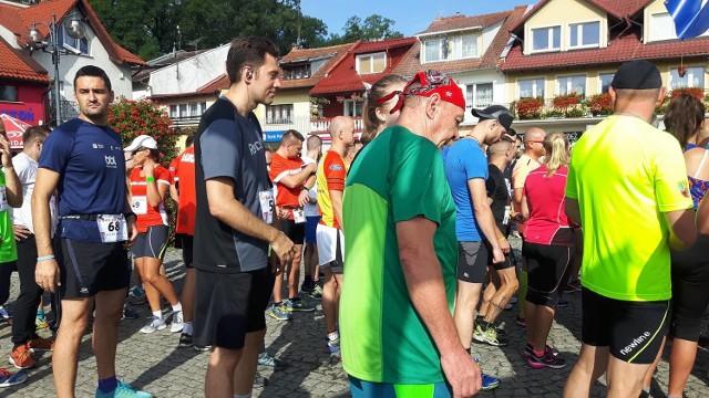 """""""Bieg bez granic"""" w Sławie."""