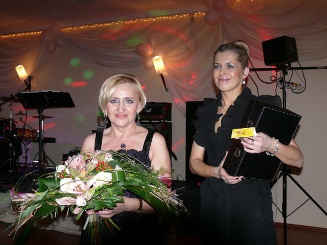 Danuta Woźniak i Joanna Klimowicz, organizatorki balu charytatywnego w Darłowie