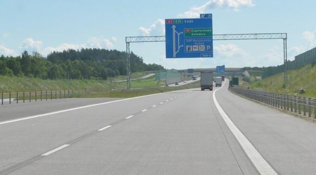 Na DK 91 można zjechać z autostrady A1.