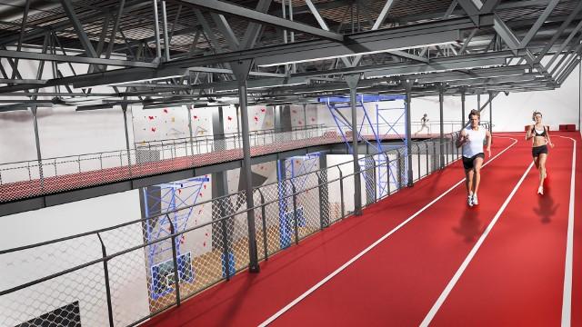 Nowa hala sportowa w miejsce Cieplaka - wizualizacja