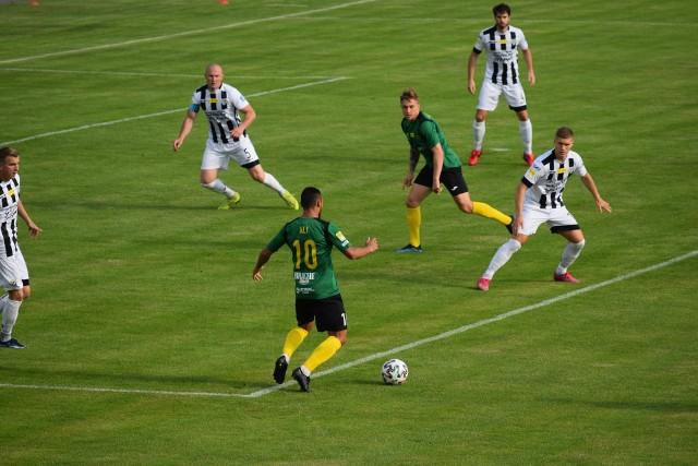 W meczu 25. kolejki Fortuna I Ligi GKS Jastrzębie na własnym terenie podejmował Sandecję Nowy Sącz.