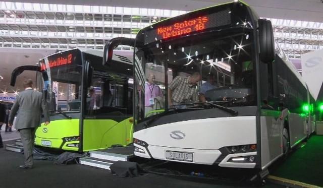 Solarisy nowej generacji już jeżdżą także w PolscePo Płocku i Olsztynie będą jeździły obie wersje nowych autobusów