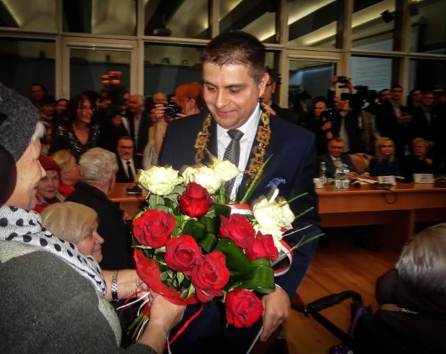 Paweł Maj, nowy prezydent Puław